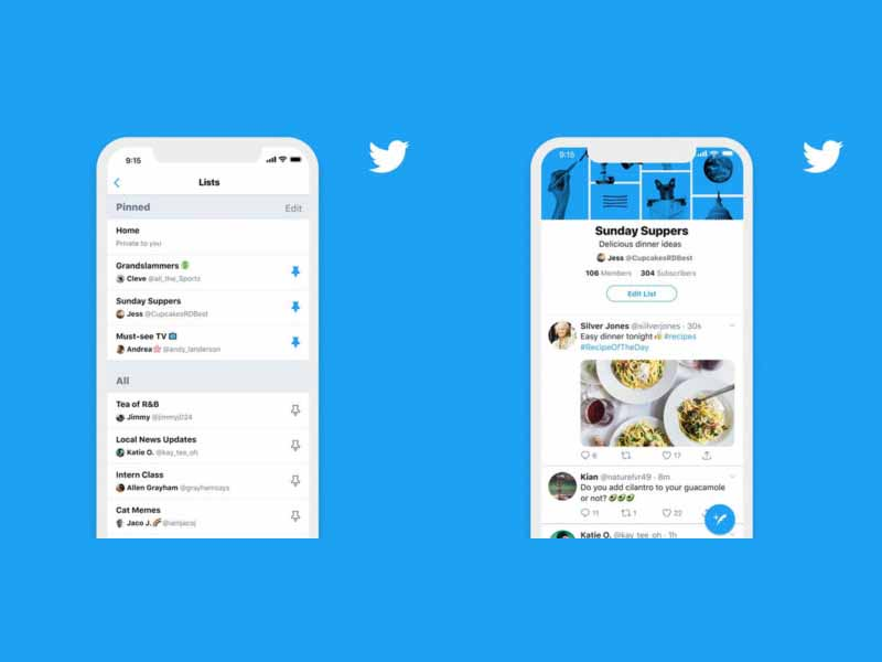 ตอนนี้แอฟ Twitter สามารที่จะปักหมุด และติดตามได้ 5 บัญชีแล้ว สำหรับ IOS